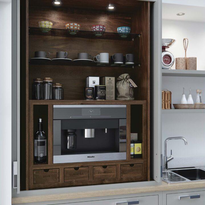 Aurora Cameo Kitchen - Dresser
