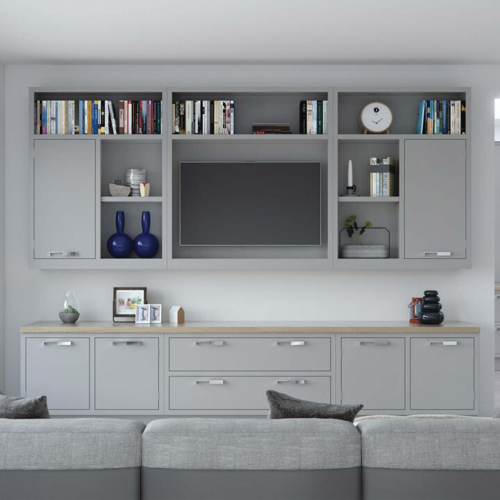 Aurora Cameo Kitchen - Media Unit