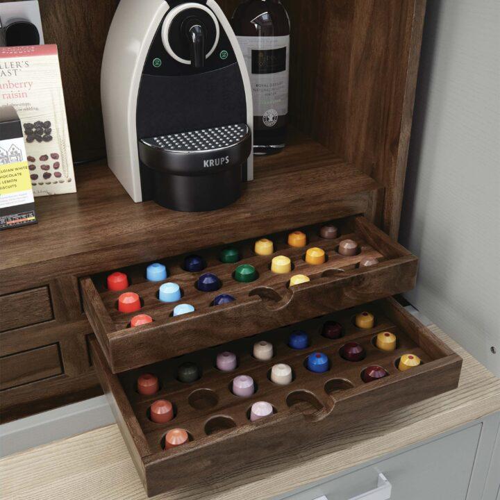 Aurora Cameo Kitchen - Nespresso