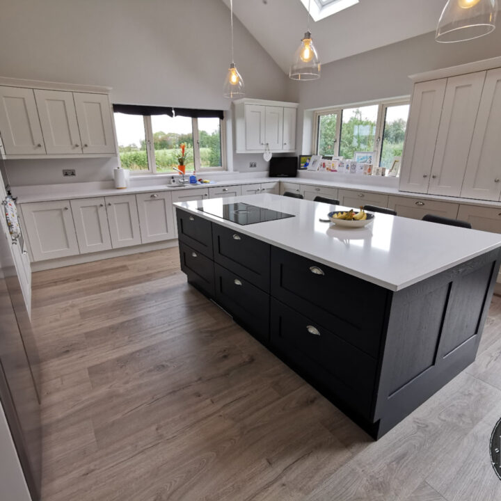 A stunning kitchen MLK recently installed in a fabulous new home in Athlone