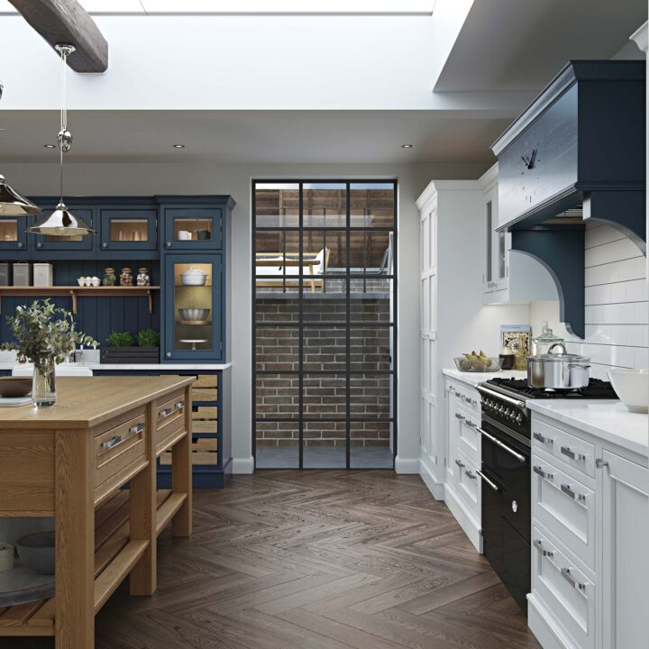 Lawrence Cameo Modern Kitchen - Mark Lohan Kitchens