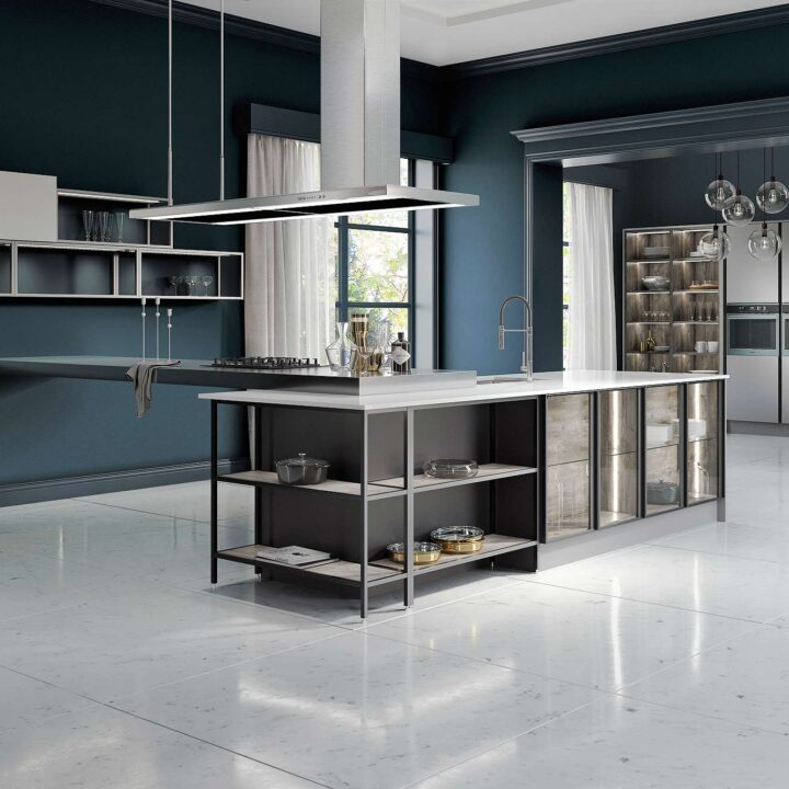 Havana Gloss Contemporary Kitchen - Mark Lohan Kitchens