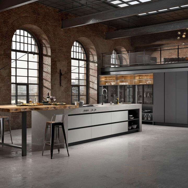 Havana Supermatt Contemporary Kitchen - Mark Lohan Kitchens