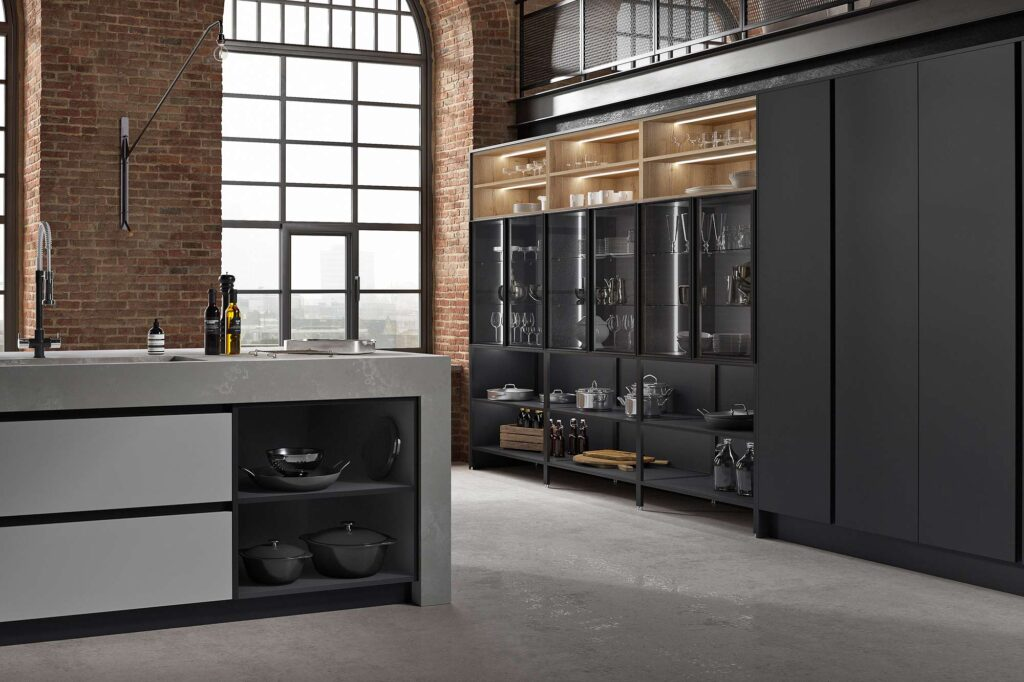 Havana Supermatt Springhill Contemporary Kitchen