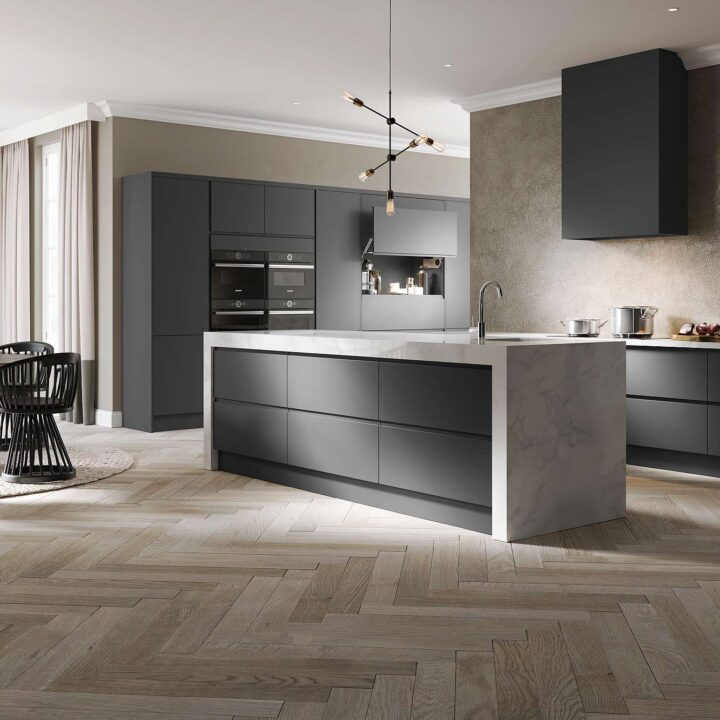 Treviso Contemporary Kitchen - Mark Lohan Kitchens
